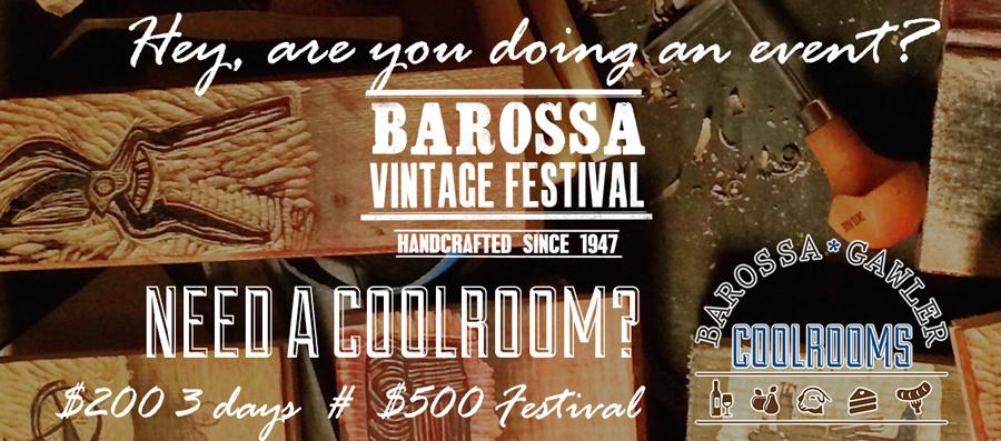 Barossa Vintage Festival Coolroom Special